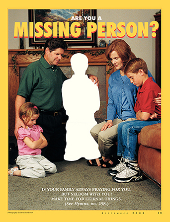Are You a Missing Person? - make a missing person poster