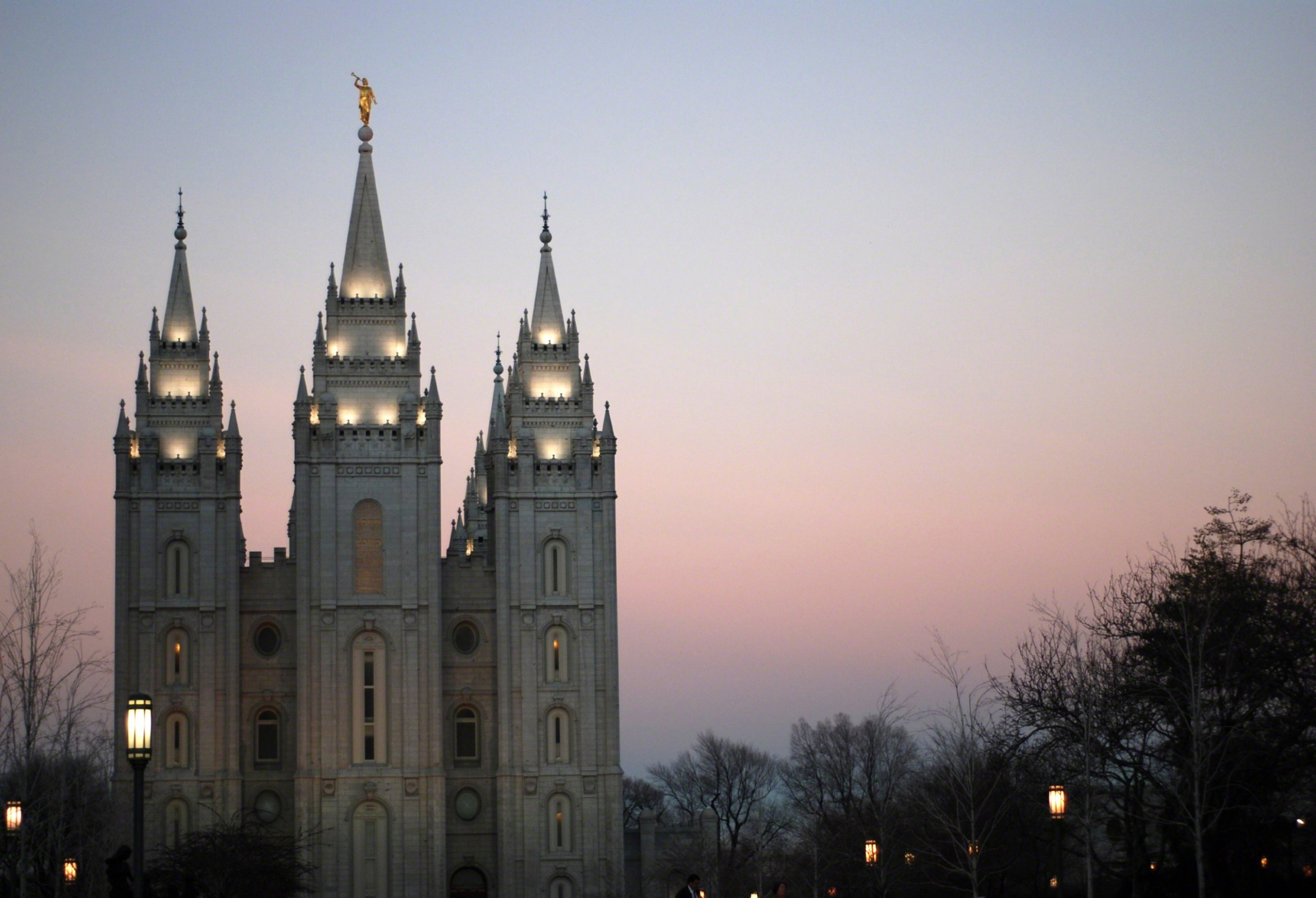 Jesus Christ Wallpapers And Quotes Salt Lake Temple In The Evening