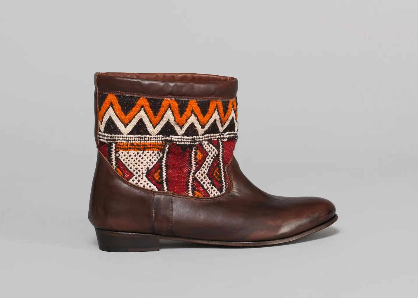 Kilim Paris Woven Kilim Boots Brown Georgy L Exception