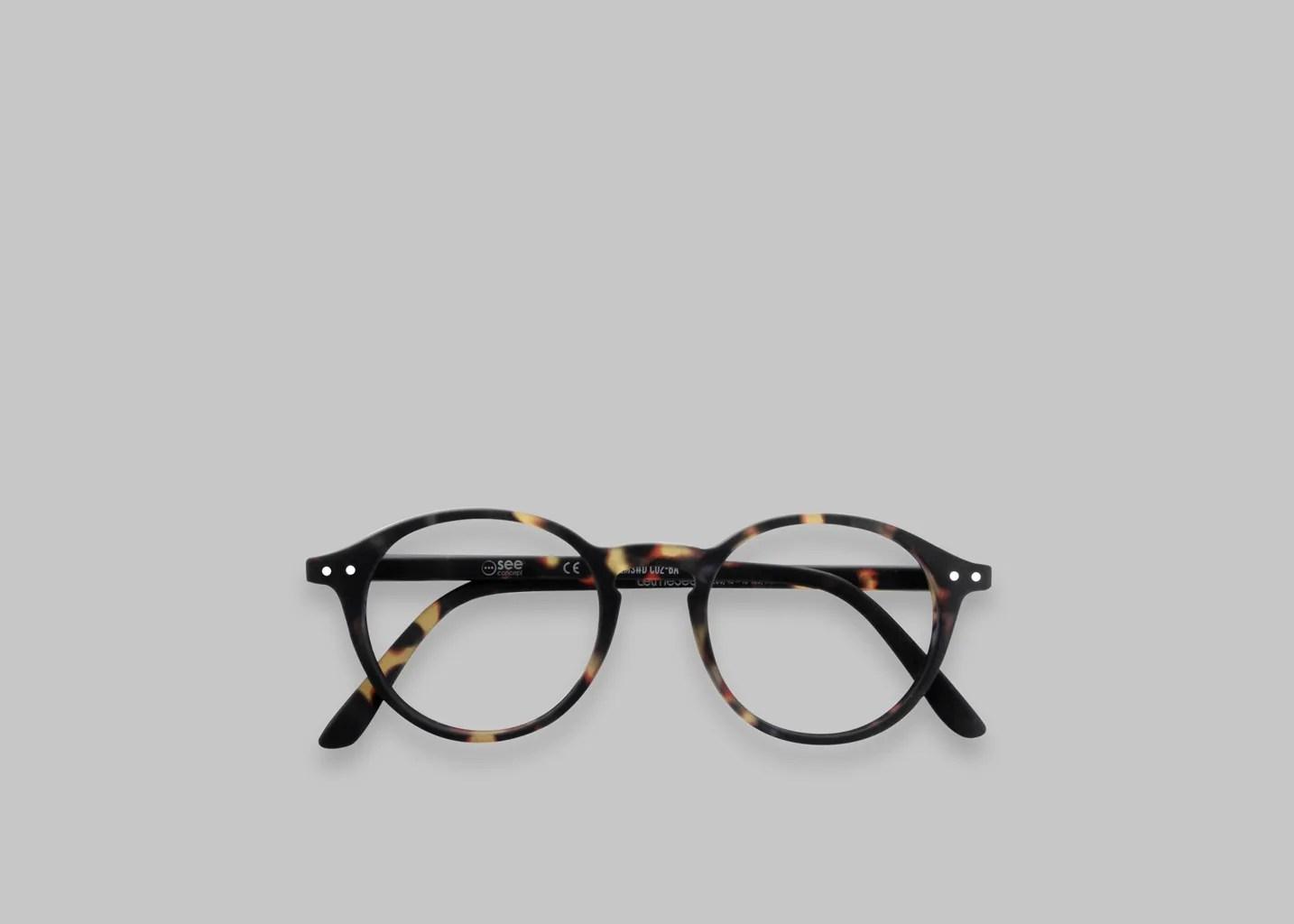 D Round Reading Glasses Fauve Izipizi Lexception