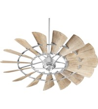 Quorum 96015-9 Windmill 60 inch Galvanized with Weathered ...