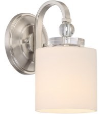 Quoizel DW8701BN Downtown 1 Light 6 inch Brushed Nickel ...