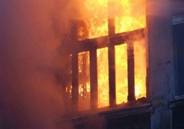 إصابة زوجة أمين شرطة بحريق في سوهاج