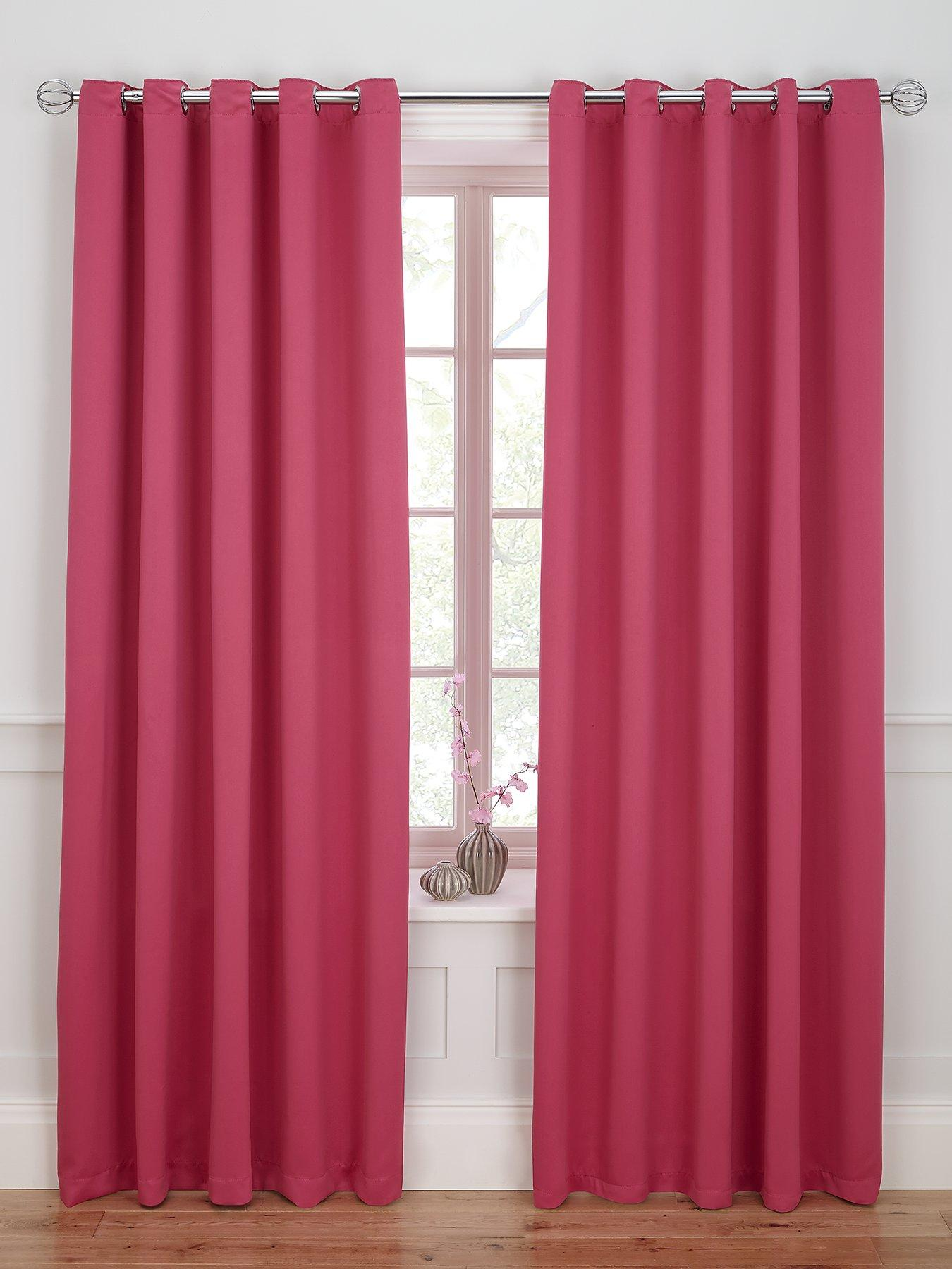 168cm X 183cm Eyelet Ring Top Curtains New York Aubergine 66 X 72 A2btravel Ge