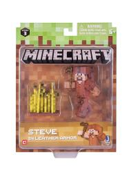 Minecraft Steve with Leather Armour | littlewoodsireland.ie
