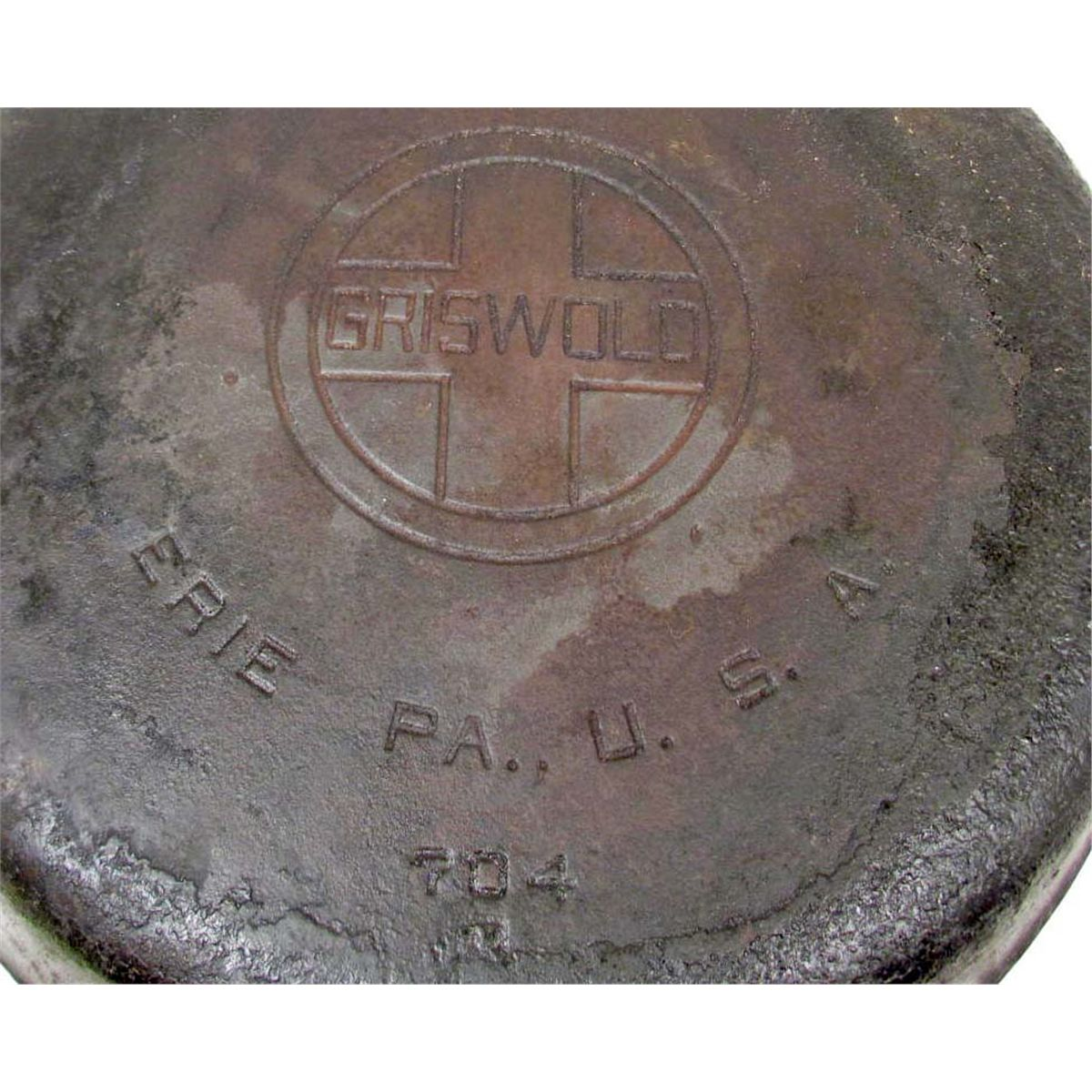 Iron Frying Pan Antique Griswold No 8 Cast Iron Frying Pan