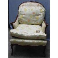 1 CONTEMPORARY LOUIS XV STYLE ARM CHAIR....
