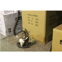 BOX OF COW SKULL WINE BOTTLE HOLDERS