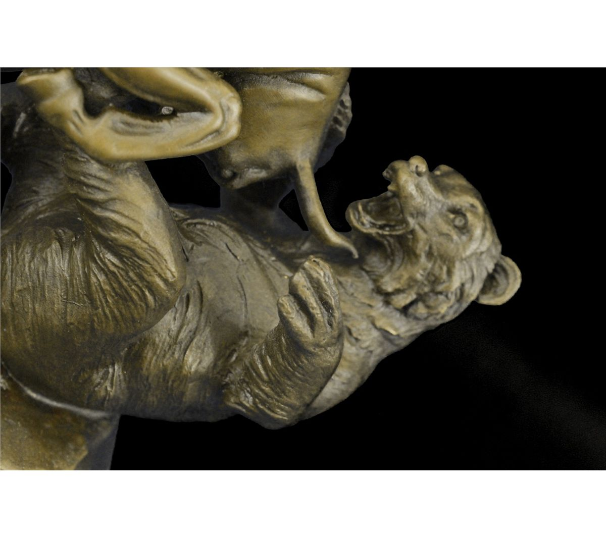 Bull And Bear Gifts 9 Quotx11 Quot Hot Cast Stock Market Bull Vs Bear Bronze Sculpture