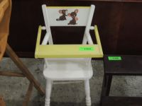 VINTAGE DOLL TOY HIGH CHAIR