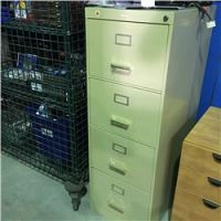 COLE 4 DRAWER METAL FILING CABINET - Able Auctions