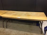 6 X 2.5 FT FOLDING BANQUET TABLE