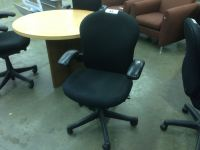 BLACK HERMAN MILLER REACTION FULLY ADJUSTABLE TASK CHAIR