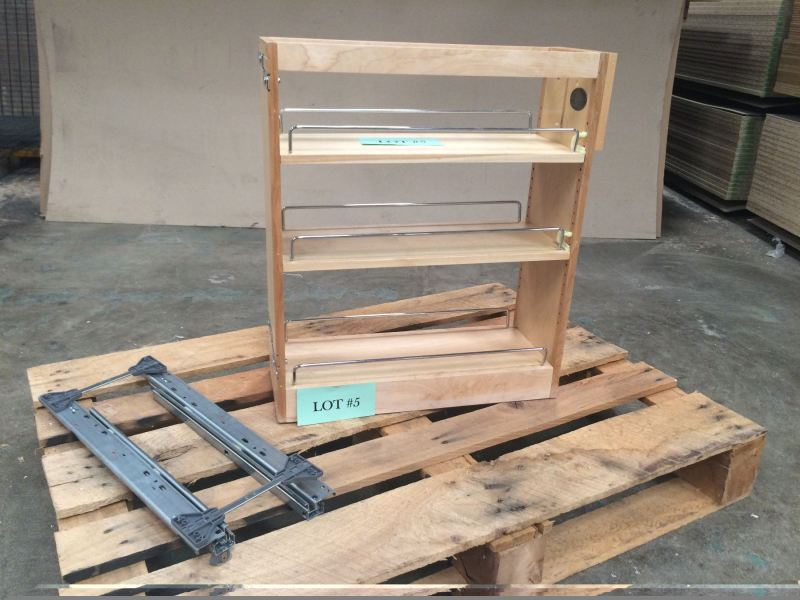Large Of Pull Out Spice Rack