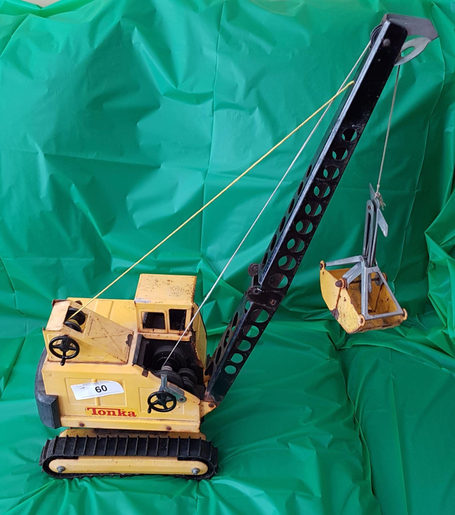 Mighty Vintage Vintage Mighty Tonka Crane - Grande Estate Auction