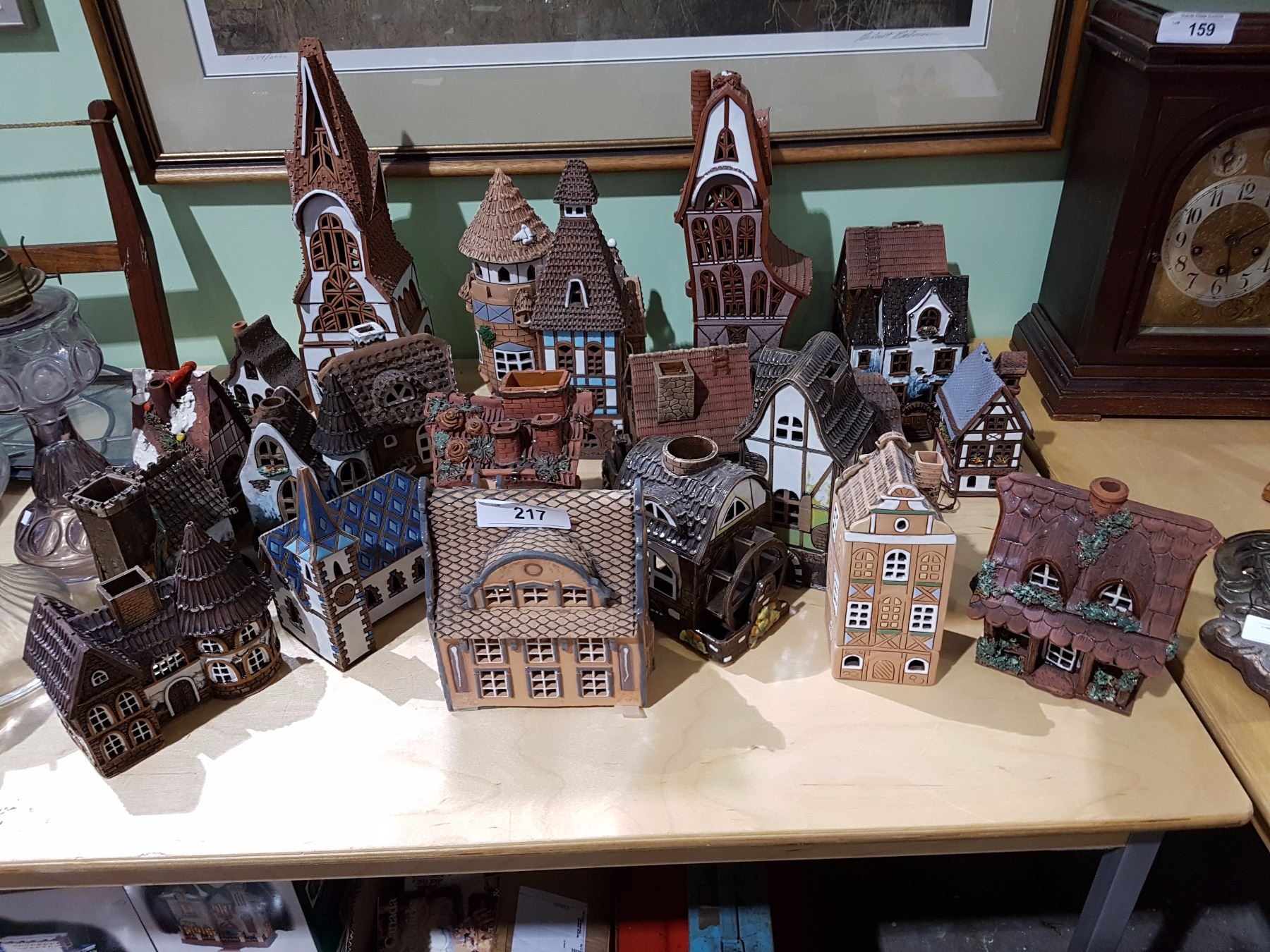 Excellent Custom Made Painted Lithuanian Village Village Houses Clearance Philippines Village Houses Department 56 Custom Made Painted Lithuanian Village Houses Collection Image Collection curbed Christmas Village Houses