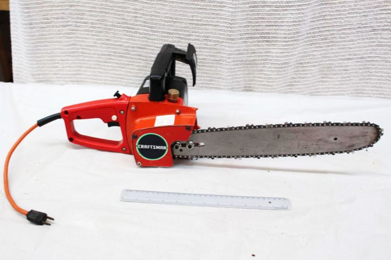 Large Of Craftsman Electric Chainsaw