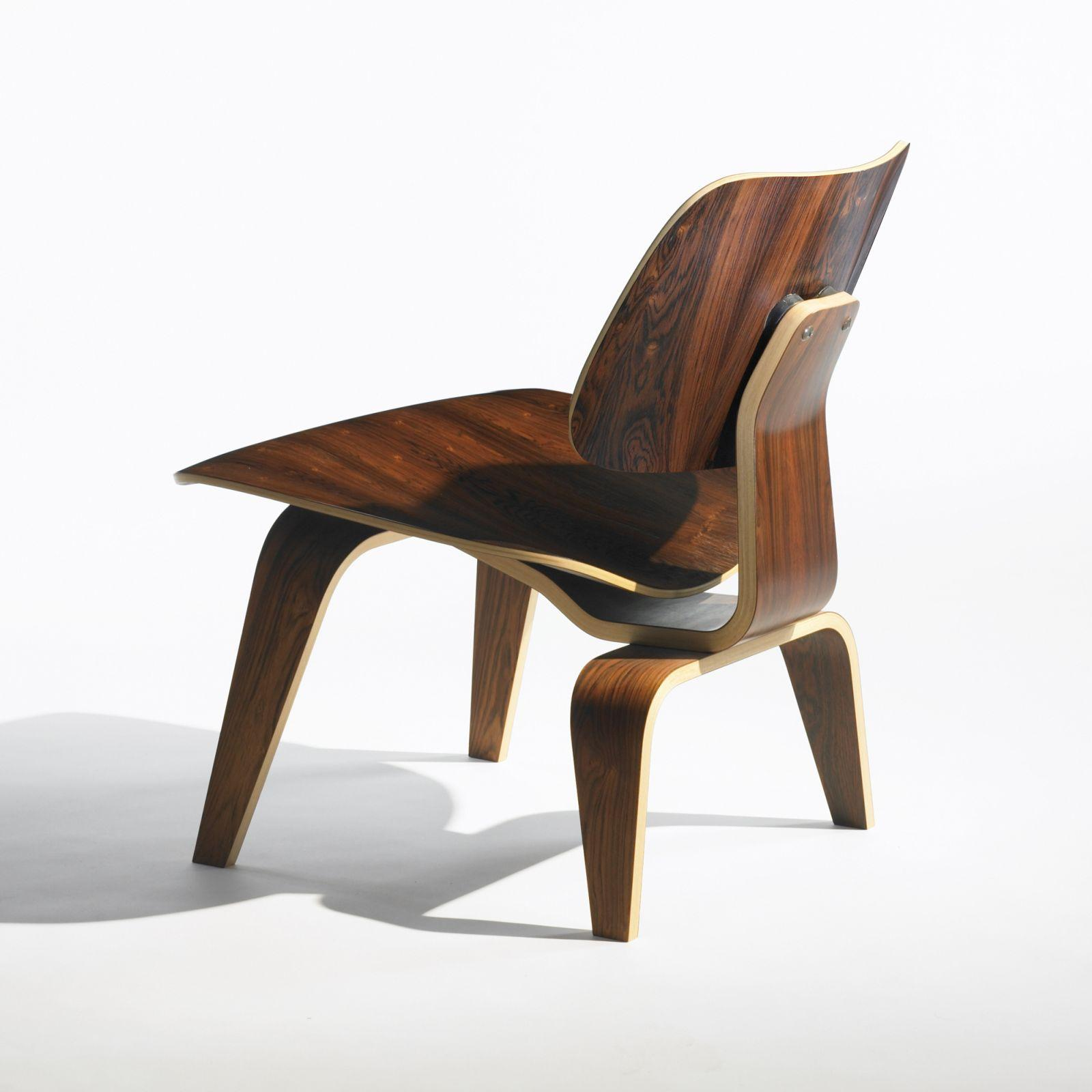 Charles & Ray Eames Sessel Charles And Ray Eames Chair Perfect American Lcw Walnut Lounge
