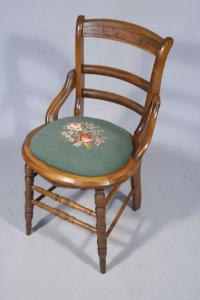 A Victorian Side Chair.