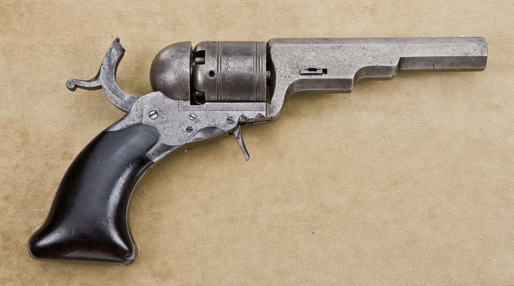 Colt Texas Model Paterson 34 Cal 4 5 8 Barrel Traces