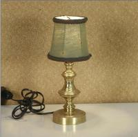 Small Brass Table Lamp Decorative X11