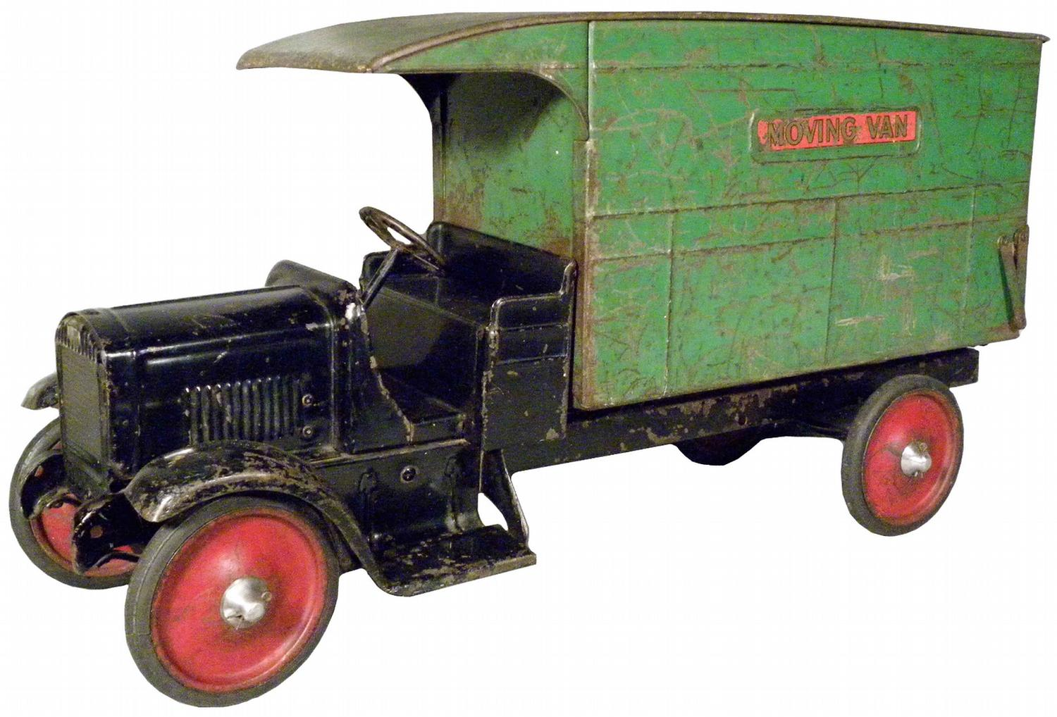 Toy Moving Truck Steelcraft Pressed Steel Toy Moving Van