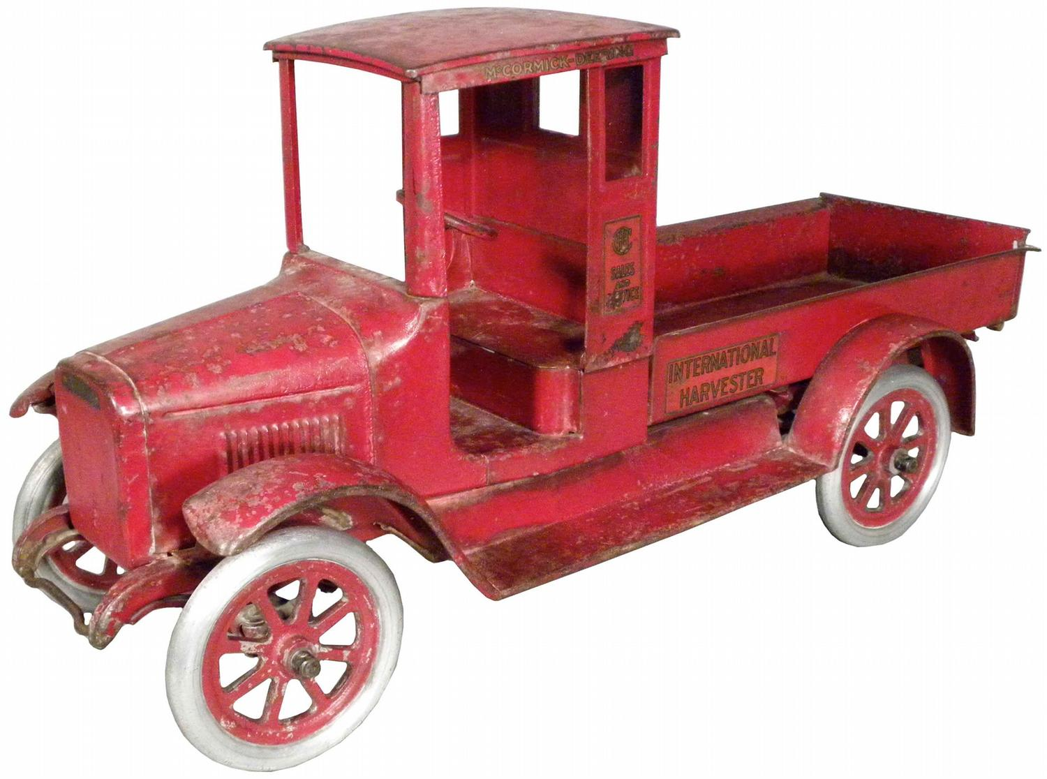 Baby Truck Buddy L International Harvester Quotred Baby Quot Toy Truck