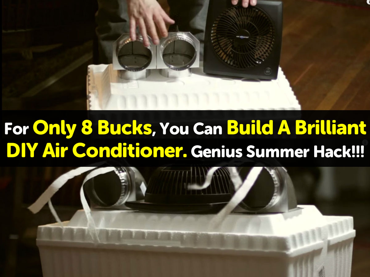 Diy Air Conditioner No Electricity For Only 8 Bucks You Can Build A Brilliant Diy Air