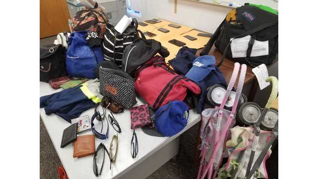 New York State Police lost items from the NYS fair - Nys University Police