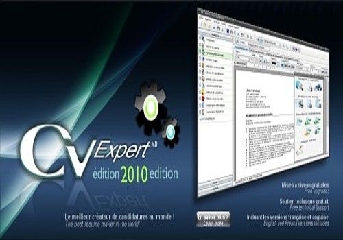 cv expert logiciel
