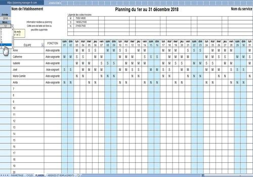 Download EXCEL-TEAM-PLANNING 20 for Windows Freeware
