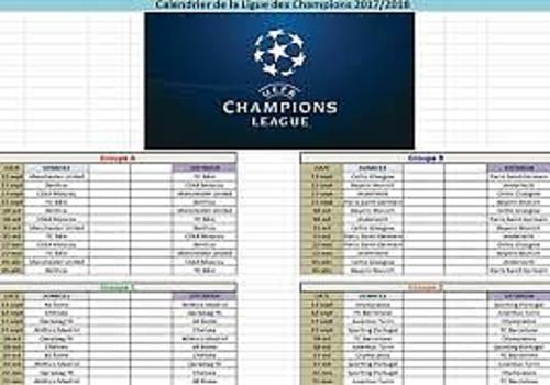 Download Calendrier Ligue des Champions 2017-2018 2017-2018 for