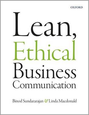 Lean, Ethical Business Communication (Paperback) Linda MacDonald
