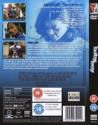 Baby Boy (DVD) Tyrese Gibson, Snoop Dogg, Ving Rhames Movies  TV