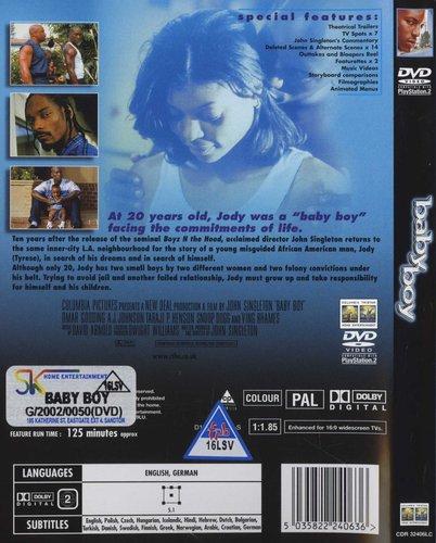Baby Boy (English, German, DVD) Tyrese, Omar Gooding, Taraji P