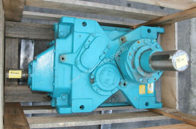 Used Brook Hansen 9 737 1 Right Angle Gearbox 95mm Output