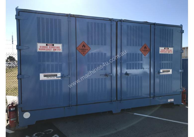 Used 2014 Storemasta 8 Pallet Dangerous Goods Storage