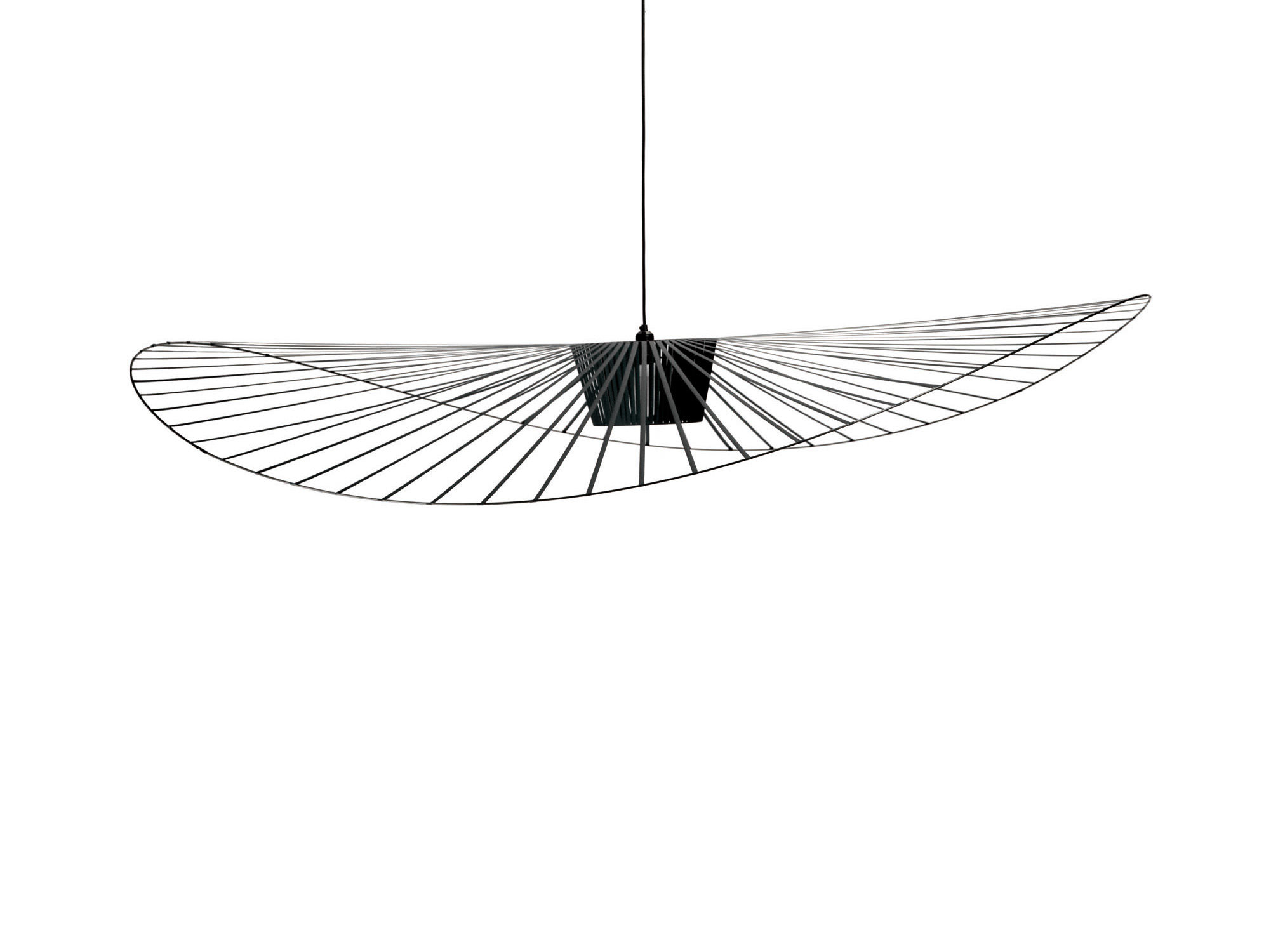 Suspension Grand Diamètre Suspension Vertigo Large Ø 200 Cm Noir Petite Friture