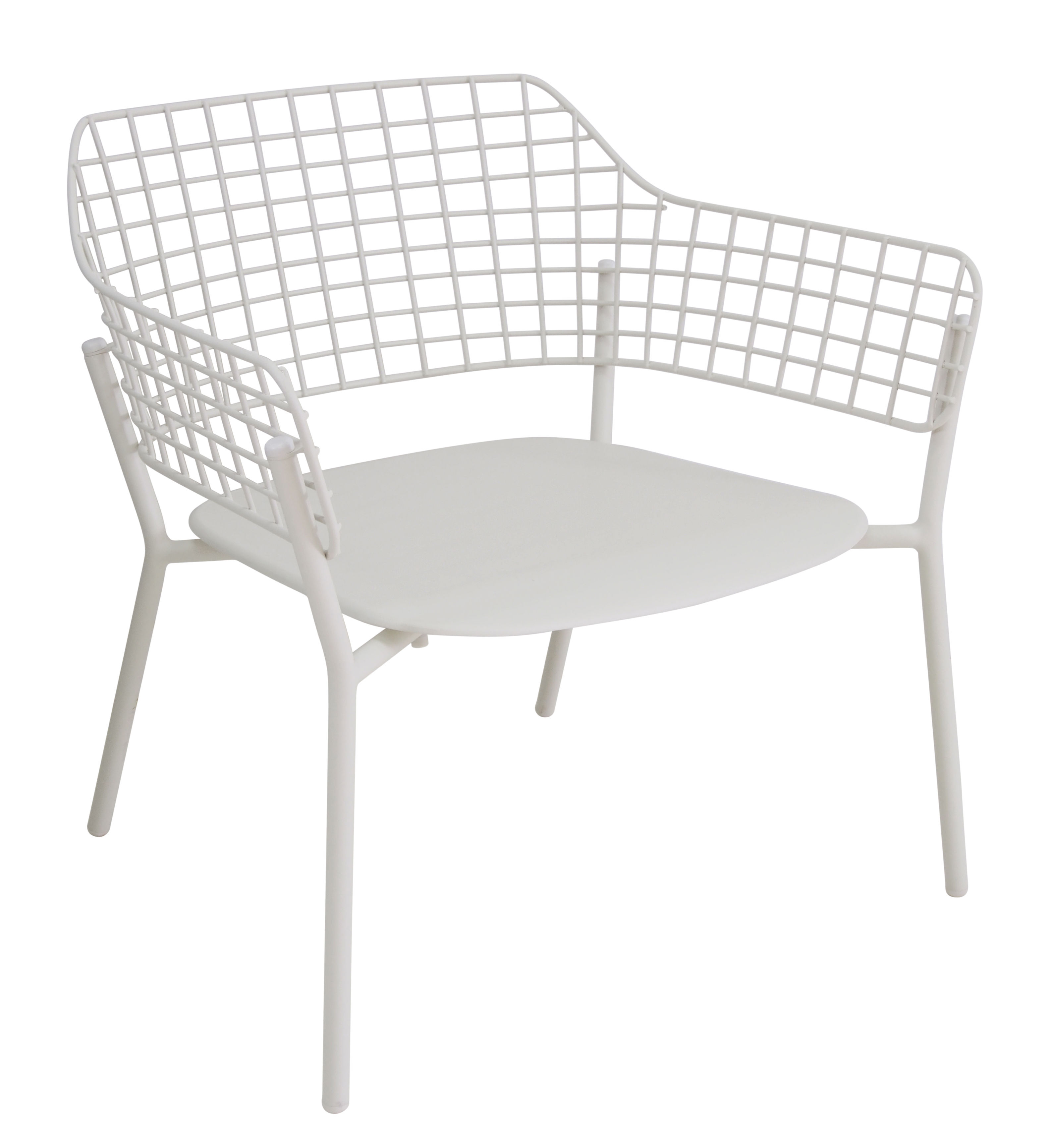 Sessel Metall Lyze Lounge Sessel Metall Weiß By Emu Made In Design