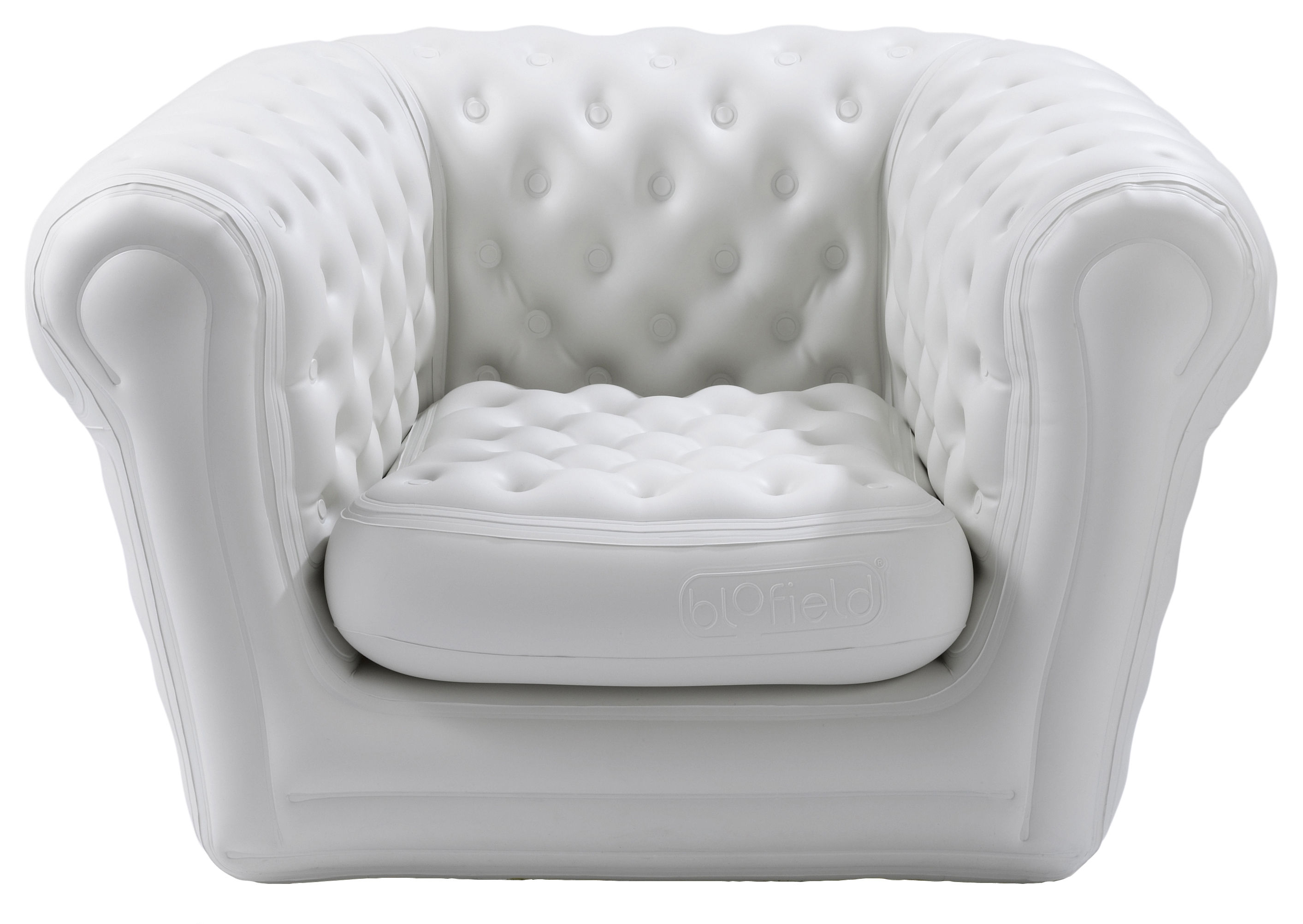 Fauteuil Pop Up Exterieur Big Blo 1 Inflatable Armchair - Inflatable White By Blofield