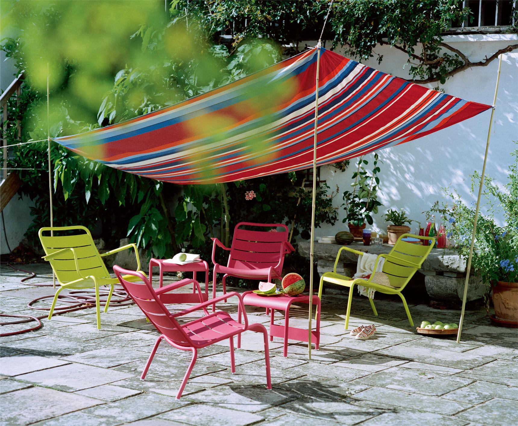 Salon Jardin Fermob | Les Fauteuils Et Canapés Fermob Salon De Jardin