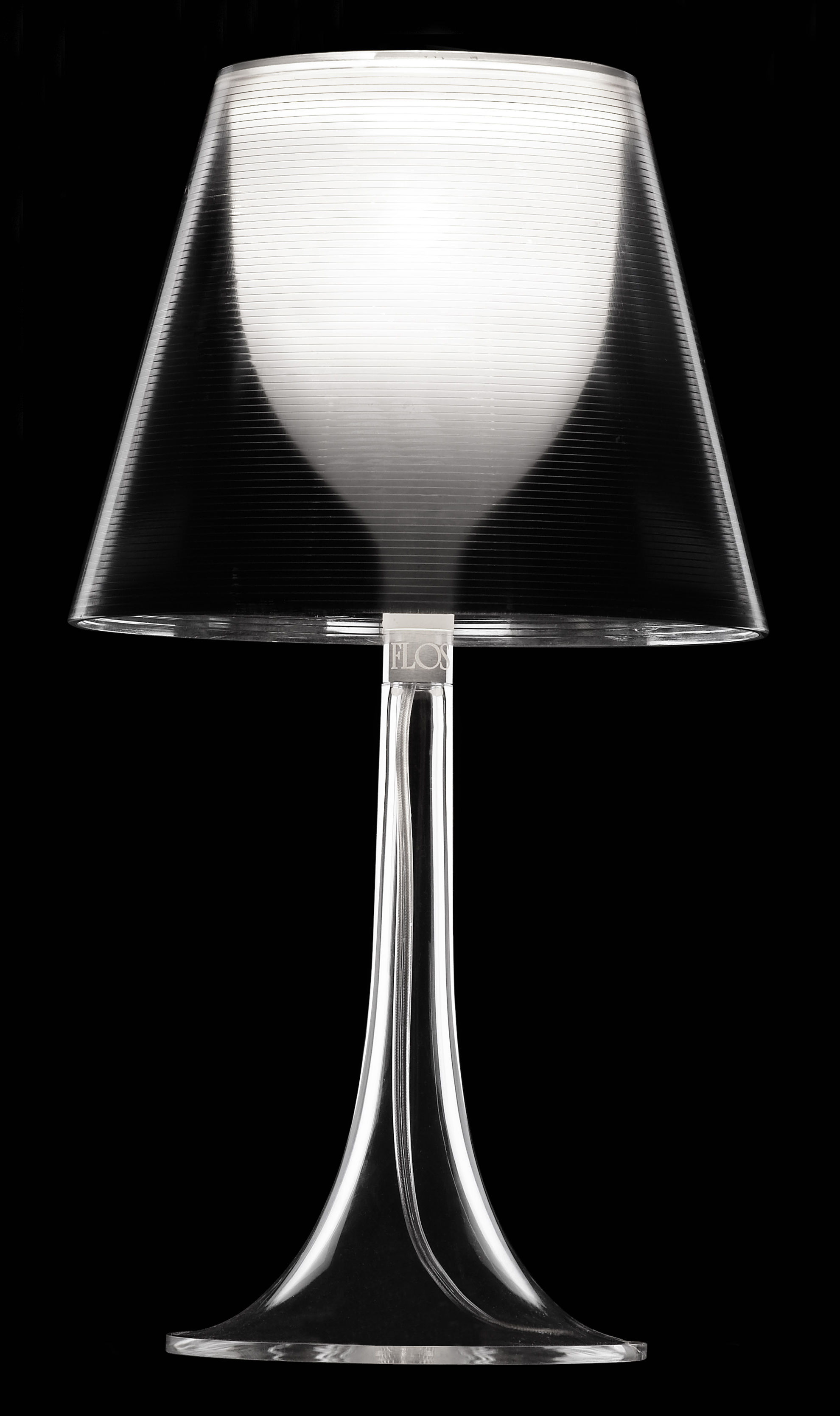 Starck Lampe Lampe De Table Miss K Argent - Flos