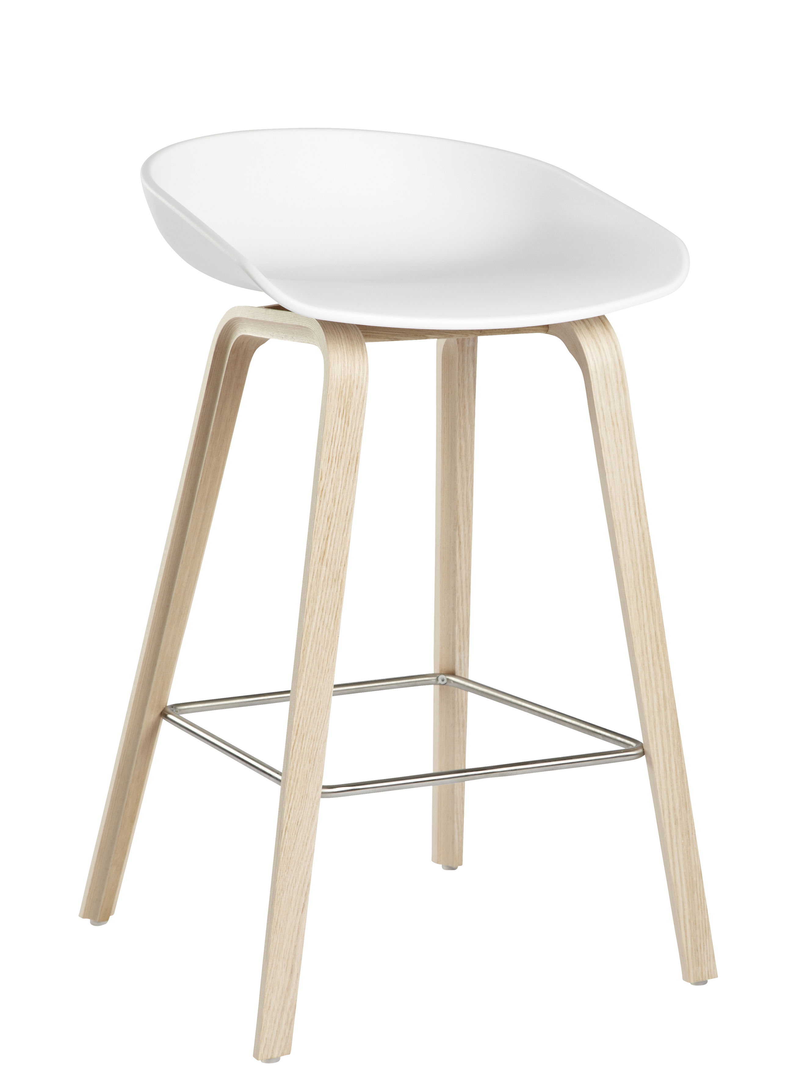 4 Tabourets De Bar Stockholm Tabouret De Bar About A Stool Aas 32 H 65 Cm Plastique