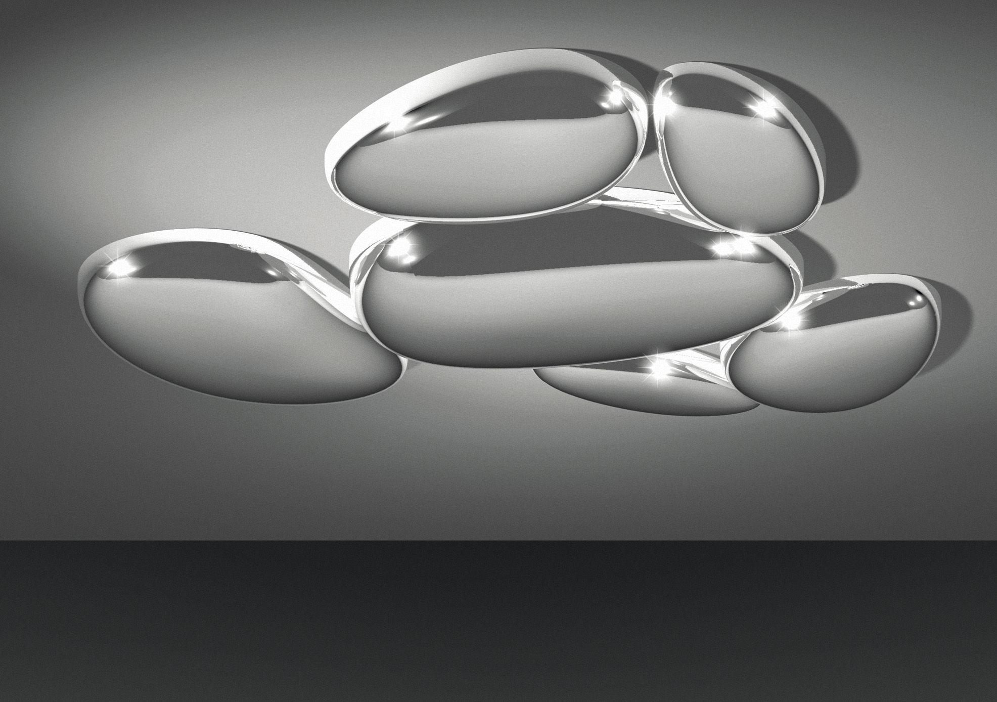 Plafoniere Moderne Living : Artemide plafoniere moderne specchio bagno cm specchiera