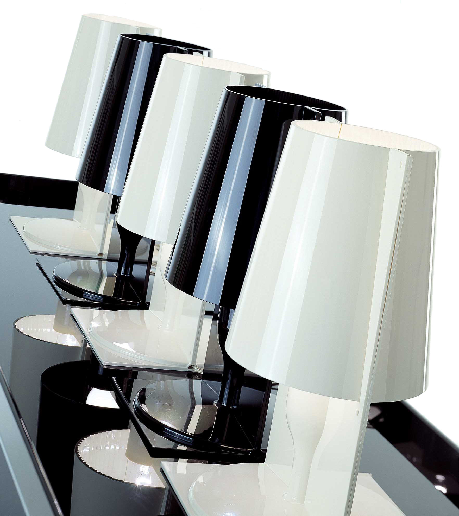 Lampe Kartell Take Lampe De Table Take Opaque Blanc Kartell
