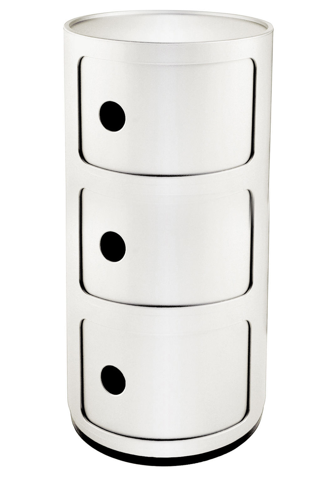 Componibili Kartell Componibili Storage - 3 Elements White By Kartell