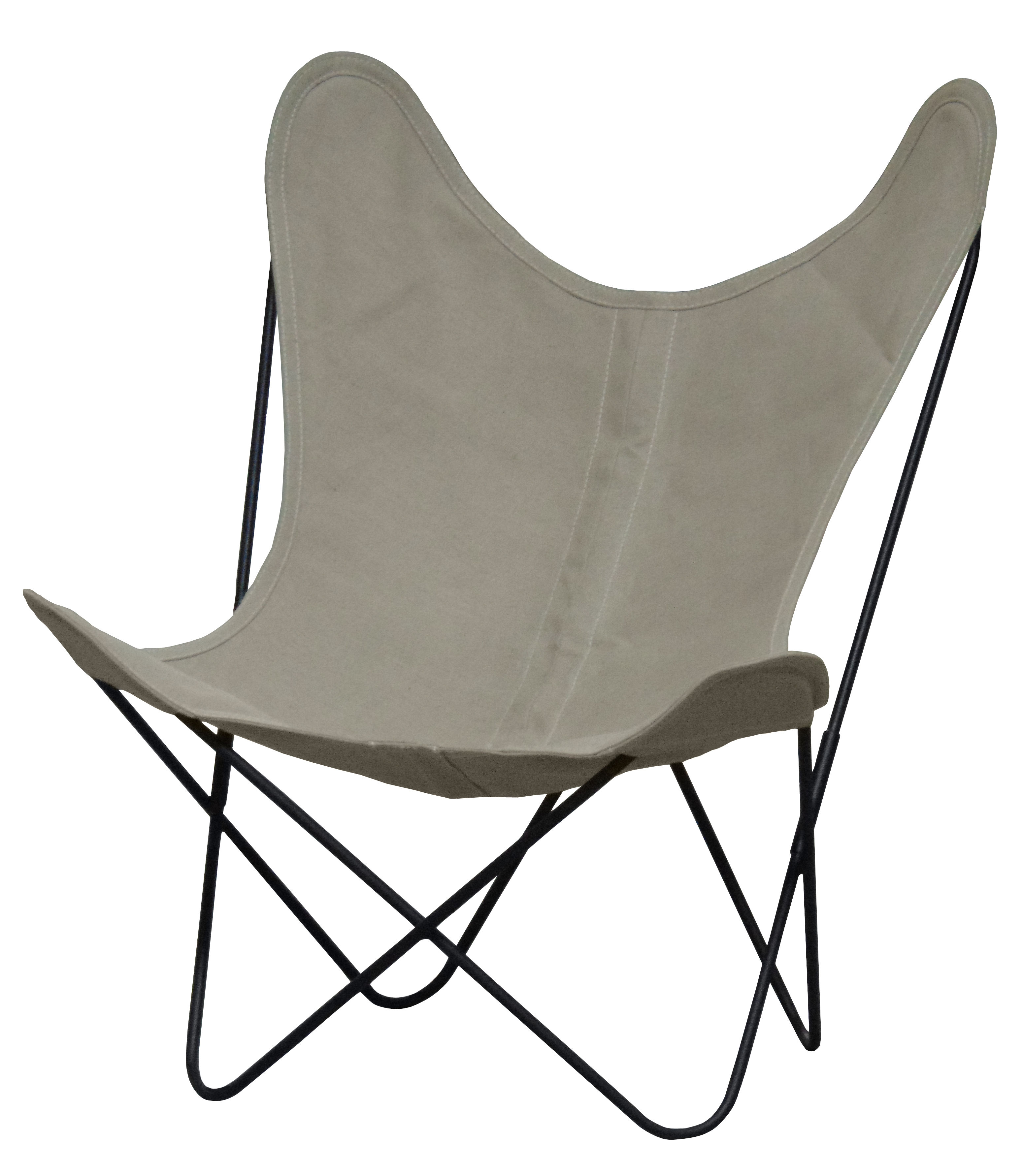 Butterfly Fauteuil Aa Butterfly Low Armchair Linen Black Structure By Aa New Design