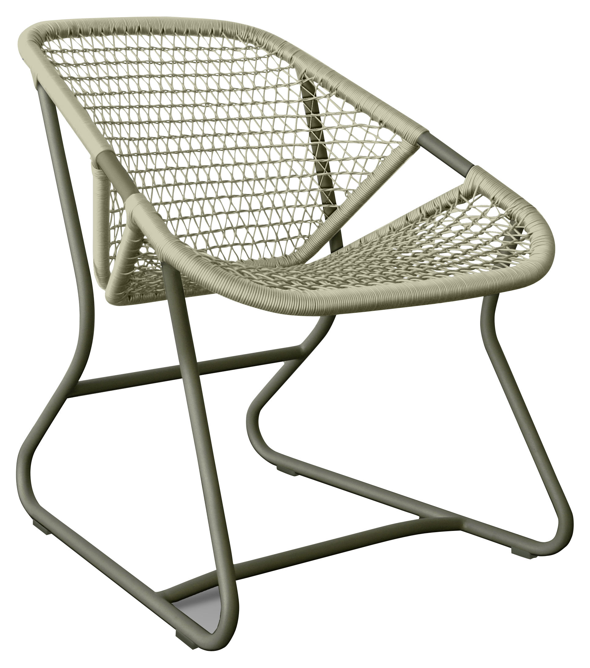 Fly Lounge Sessel Komfortable Outdoor Lounge Mesh Lounge Stuhl Harz Chaise