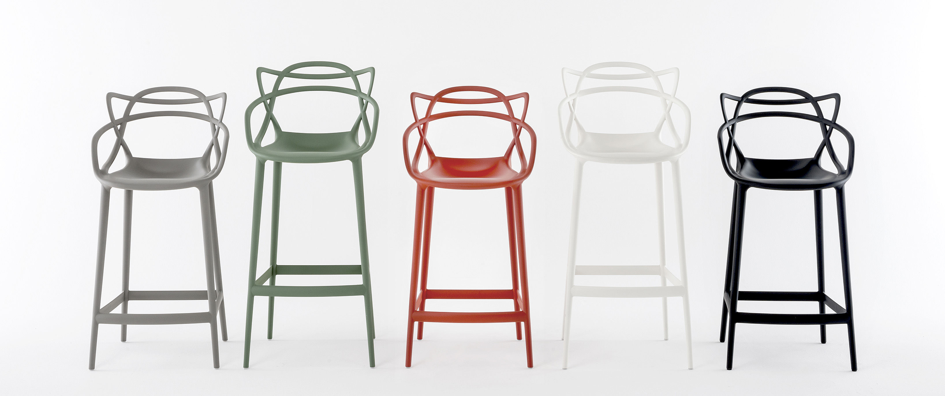 Chaises Masters Soldes Chaise De Bar Masters Kartell - Blanc | Made In Design
