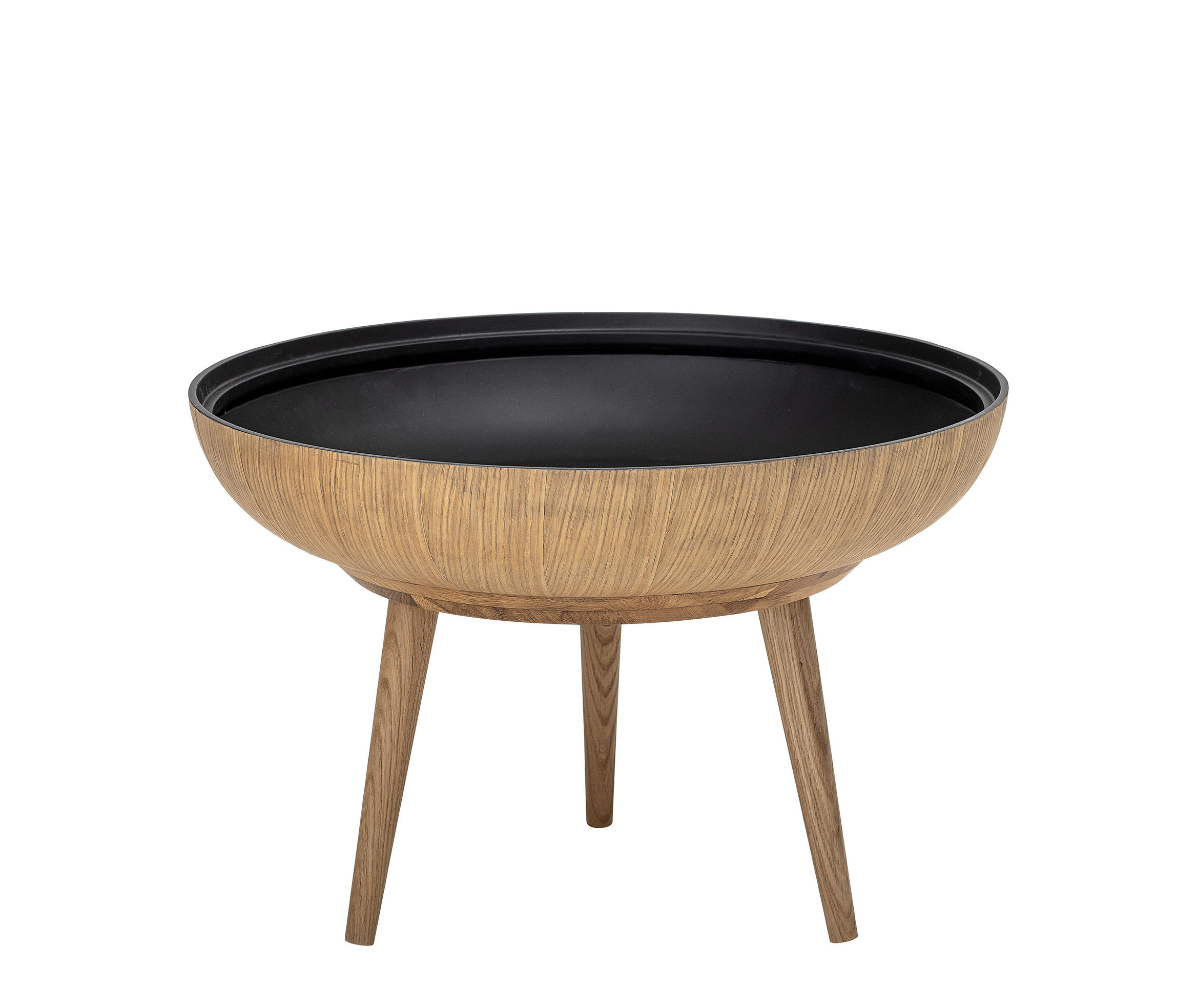 Made In Design Table Basse Table Basse Ronda Bloomingville Chêne Naturel H 40 X Ø